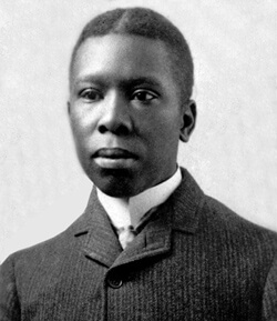 A picture of the author Paul Laurence Dunbar