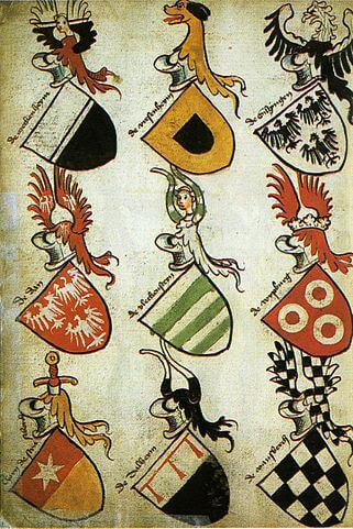 Perceval Landon studied heraldry