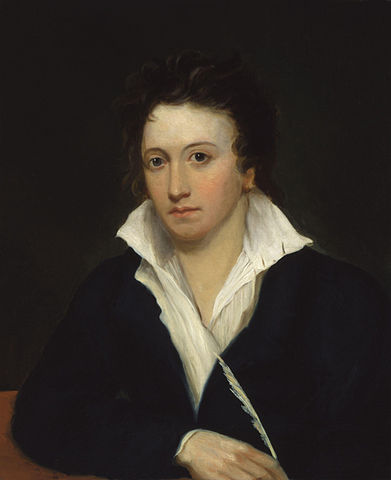 A picture of the author Percy Bysshe Shelley