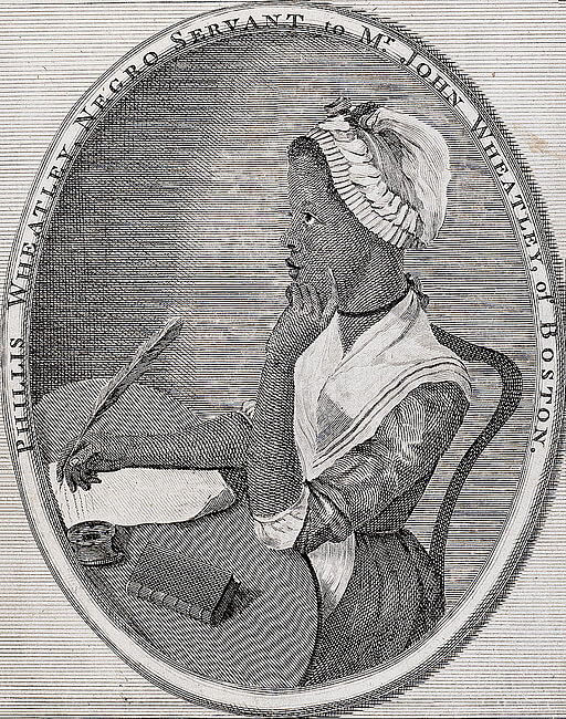 A picture of the author Phillis Wheatley