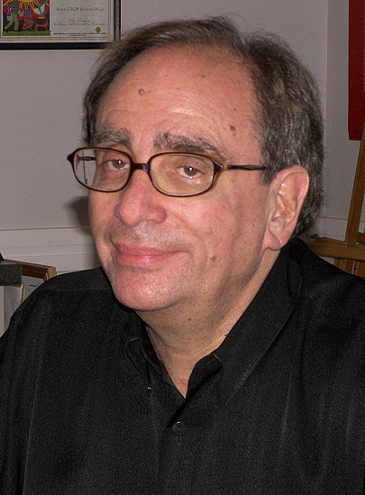 A picture of the author R.L. Stine
