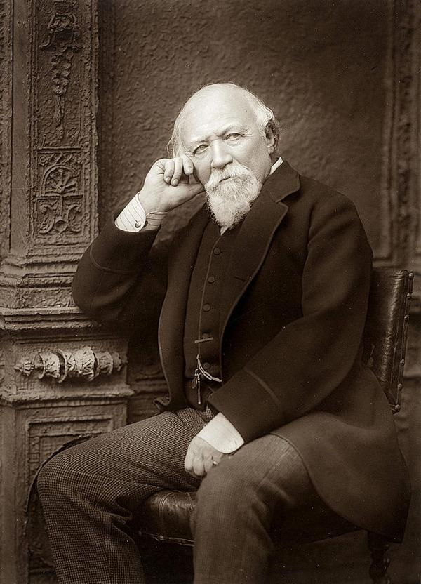 A picture of the author Robert Browning