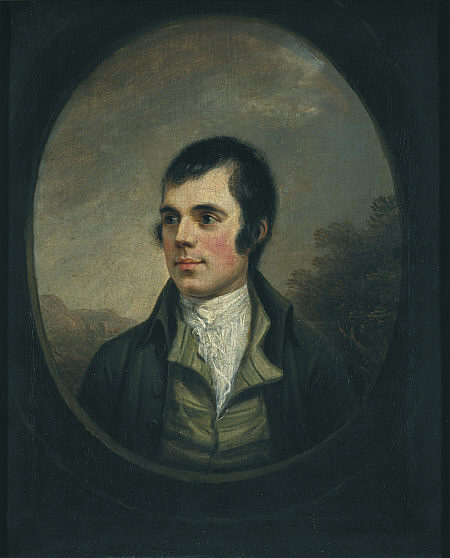 A picture of the author Robert Burns