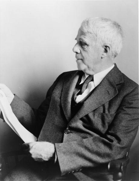 A picture of the author Robert Frost