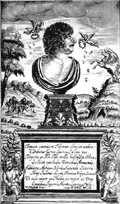 A picture of the author Robert Herrick