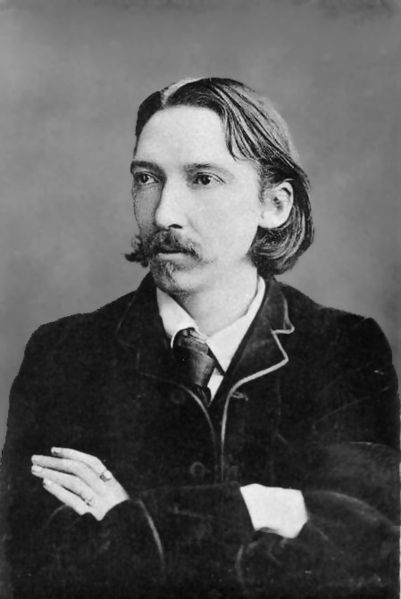A picture of the author Robert Louis Stevenson
