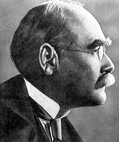 A picture of the author Rudyard Kipling