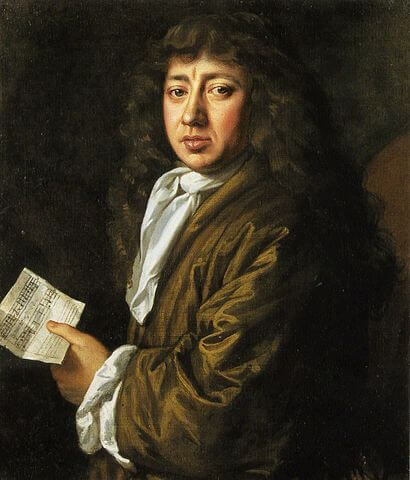 A picture of the author Samuel Pepys