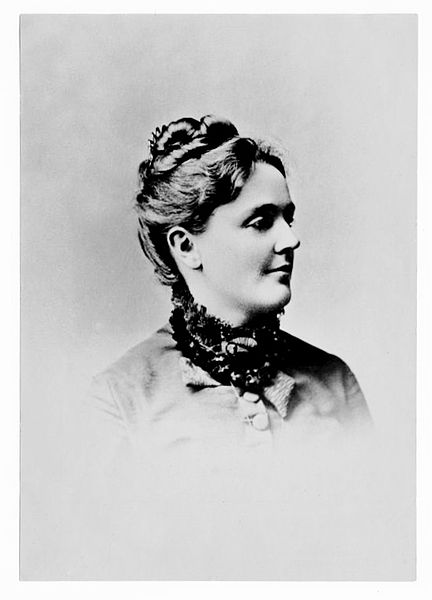 A picture of the author Sarah Orne Jewett