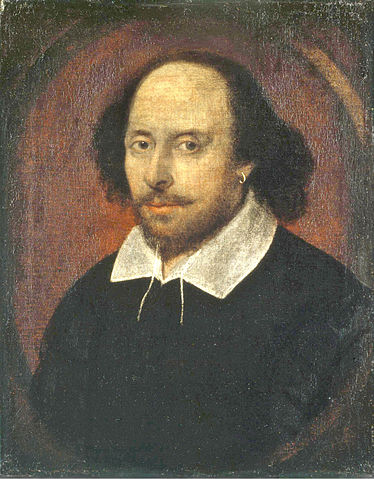 A picture of the author William Shakespeare
