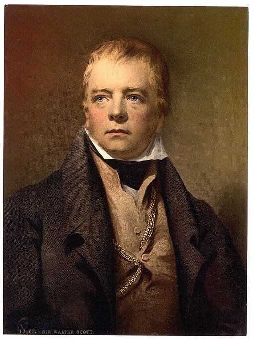 A picture of the author Sir Walter Scott
