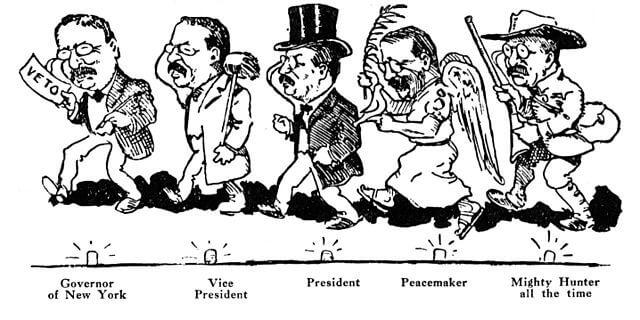 Theodore Roosevelt jobs