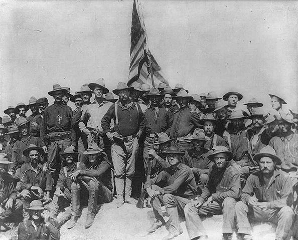 Theodore Roosevelt Rough Riders 1898