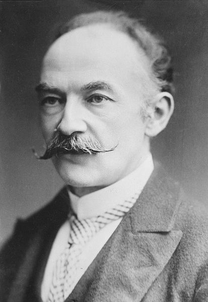 A picture of the author Thomas Hardy