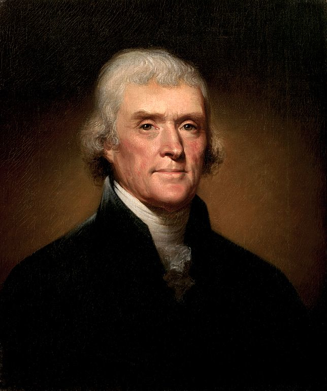 A picture of the author Thomas Jefferson