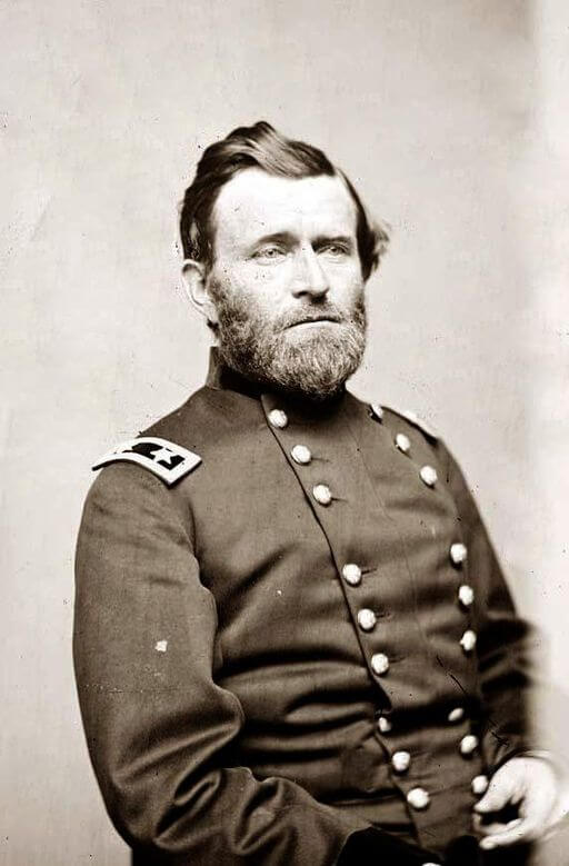 A portrait of Ulysses S. Grant