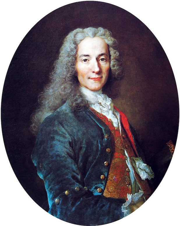 A picture of the author Voltaire