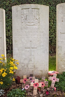 Wilfred Owen grave