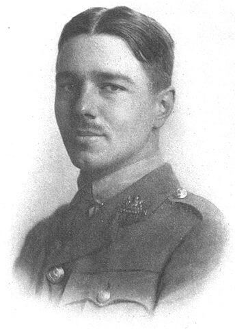 A picture of the author Wilfred Owen