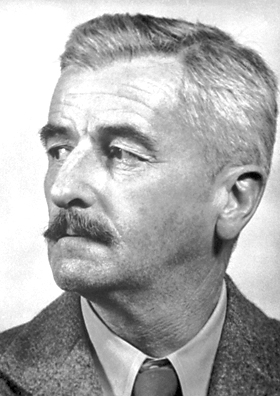 A picture of the author William Faulkner