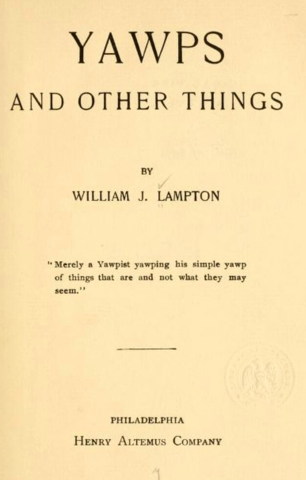 A picture of the author William James Lampton