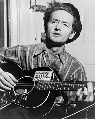 A picture of the author Woody Guthrie