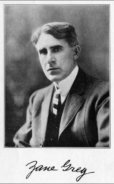 A picture of the author Zane Grey