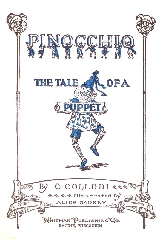 A picture for the book Pinocchio