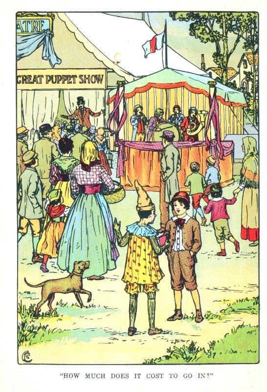 Pinocchio title page