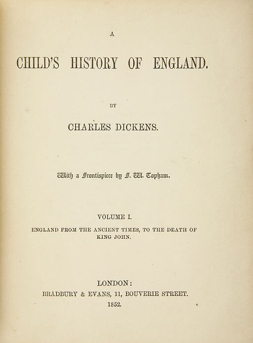 A picture for the book A Child's History of England