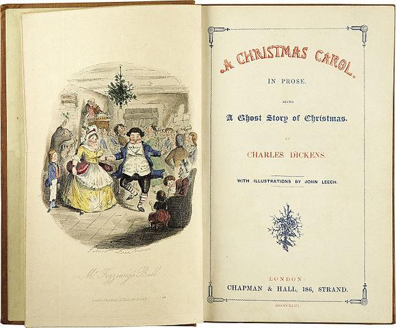A Christmas Carol frontis