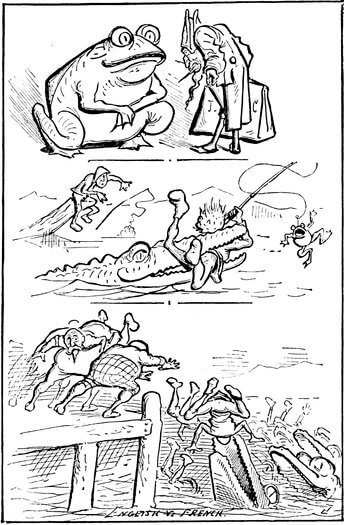 A picture for the book A Comic History of the United States