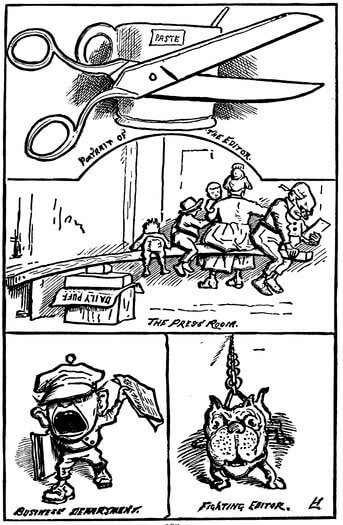 A Comic History of the United States, Press Room