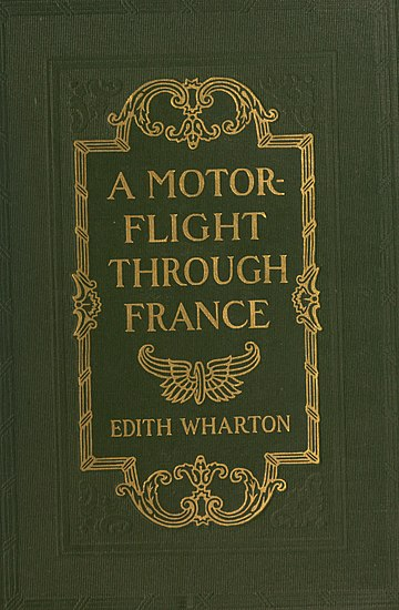 A picture for the book A Motor-Flight Through France