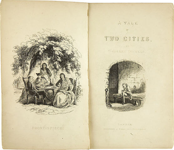 A picture for the book A Tale of Two Cities