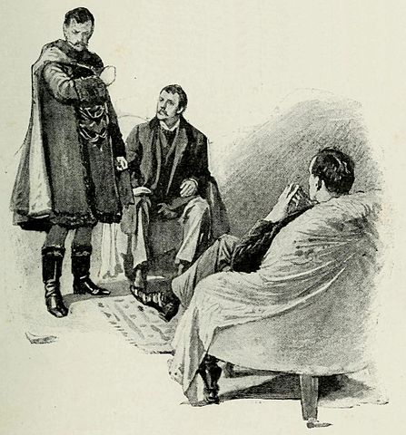 A picture for the book The Adventures of Sherlock Holmes