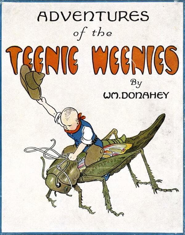 A picture for the book Adventures of the Teenie Weenies