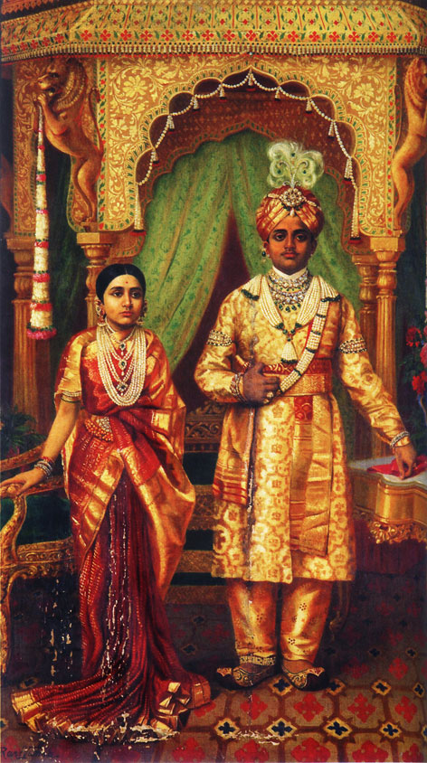 Swarnakumari Ghosal, An Unfinished Song, Rupika Chawla, Hindu Wedding portrait, 1904