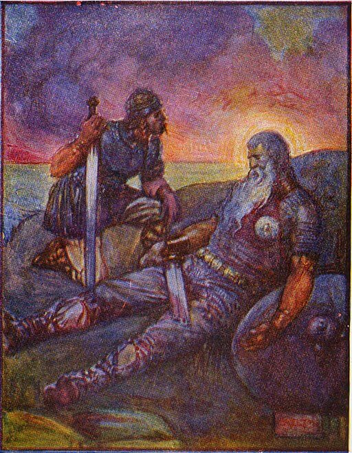 Beowulf: An Anglo-Saxon Epic Poem, Beowulf and Wiglaf