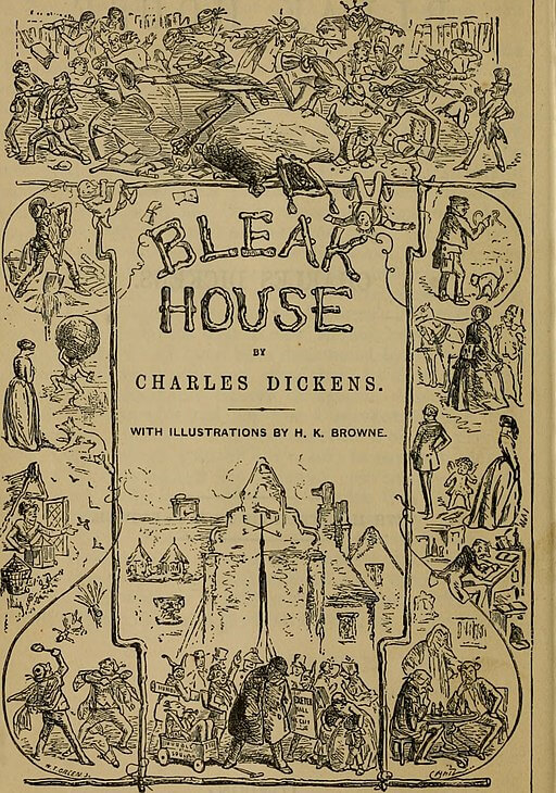 A picture for the book Bleak House