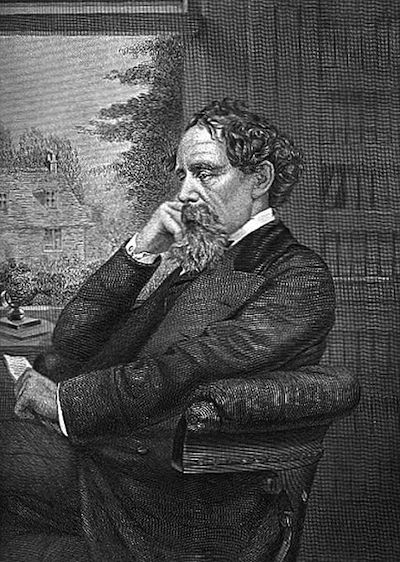 A picture for the book Martin Chuzzlewit