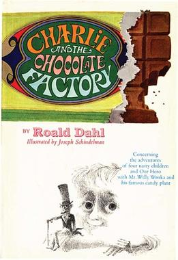 A picture for the book Charlie and the Chocolate Factory