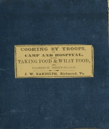 A picture for the book Cooking by Troops, for Camp and Hospital