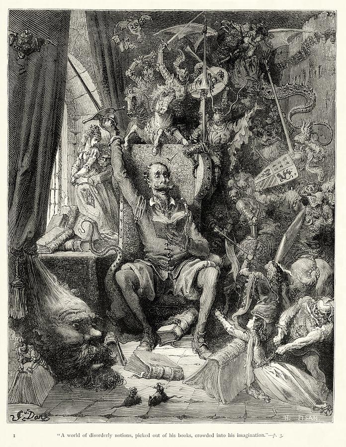 Don Quixote frontis