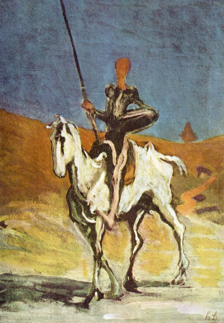 A picture for the book Don Quixote