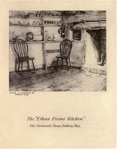 A picture for the book Ethan Frome