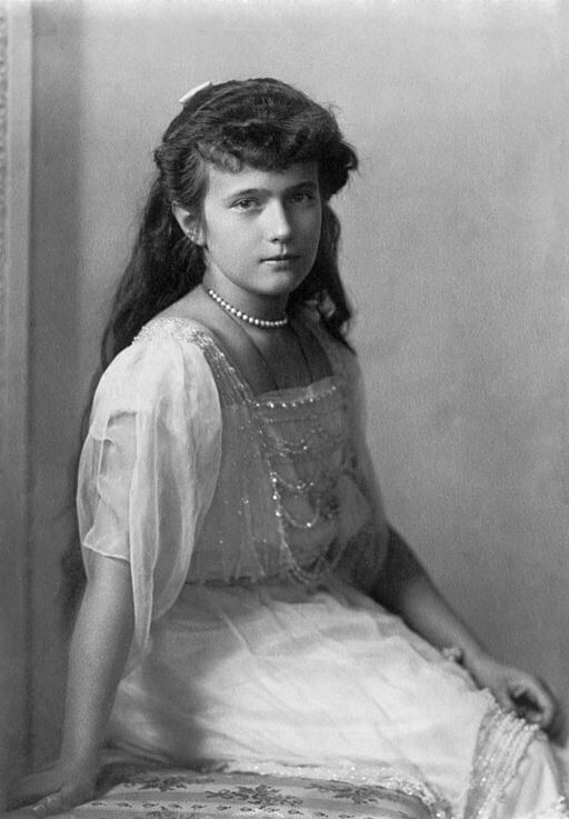 Grand Duchess Anastasia Nikolaevna of Russia, before 1918