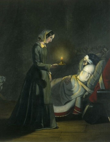 A picture for the book Florence Nightingale, The Angel of the Crimea