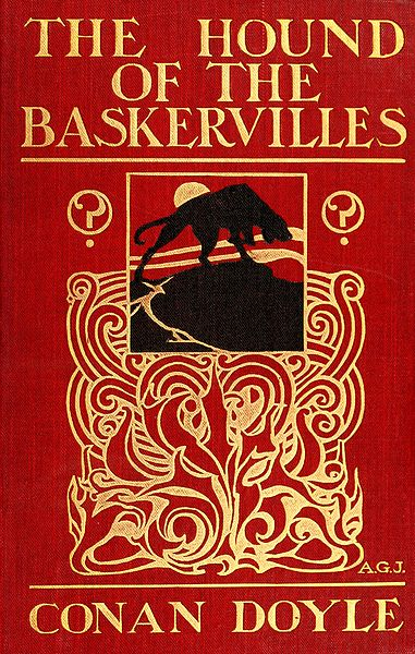 A picture for the book The Hound of the Baskervilles