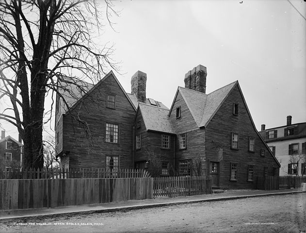 A picture for the book The House of Seven Gables
